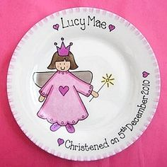 Fairy Gift Plate by Precious Parcels