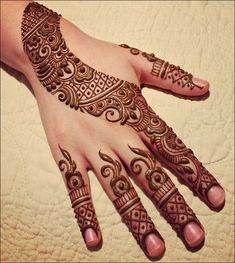 Khaleeji Mehndi Designs - Artsy All The Way