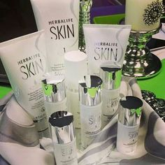 Herbalife skin line is the best skin care line i have used.  My skin has never looked so good.  Results in just one use.  We have a 7 day trial available.. Contact me goherbalife.com/ashlynm