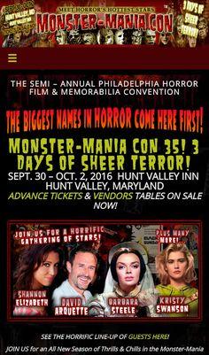Monstermania hunt Valley Maryland