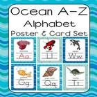 This alphabet features sea life and ocean artwork.  It is fun for an Ocean themed classroom or an Ocean Unit.  This alphabet pack's backgrounds coo...