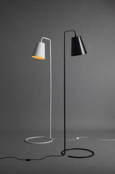 Knight Floor Light by David Moreland