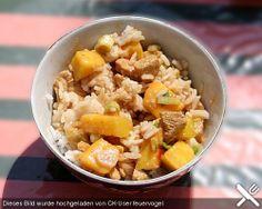 Indonesische Hähnchenbrust mit Mango