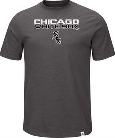 Majestic Men's Chicago White Sox Stoked On Game Win Gray T-Shirt