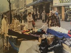 Whitechapel East London England in the 1970's