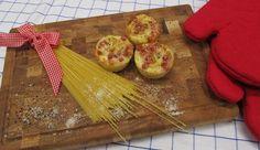 Spaghetti-Carbonara-Muffins: Das Rezept aus Enie backt