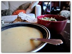 OuR KrAzy kItChEn...: White Bean Soup with Olive Tapenade ~ Veggie Tales by Kris: Soup's On!