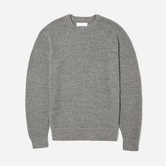 The Texture Cotton Crew Sweater | Everlane