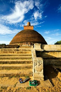 Biggest brick stupa in the world, Anuradhapura, Sri Lanka #SriLanka #Anuradhapura #AncientCity