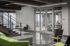 Rox Chairs from Davis Furniture in the ACTIVE Dallas offices - designed by IA Interior Architects