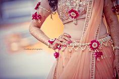 floral jewellery , waistbelt , necklace , bazubandh