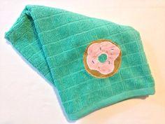 Sew Cute: Donut Tea Towel