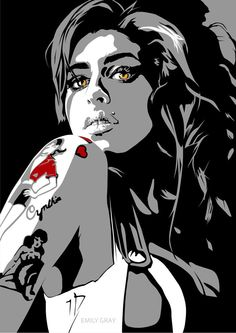 East End Prints - Amy Winehouse, £19.95 (http://www.eastendprints.co.uk/amy-winehouse/)