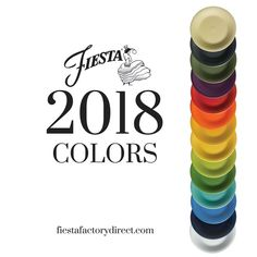 fiestaware colors by year Fiesta Ware Colors, Fiesta Ware Dishes, Color Trends, Color Combos, Fiesta Kitchen, Rainbow Kitchen, 2018 Color, Homer Laughlin, Lemon Grass