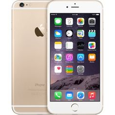 Apple iPhone 6 Plus 128 GB - Branco / Ouro (desbloqueado de fábrica) Smartphone Original