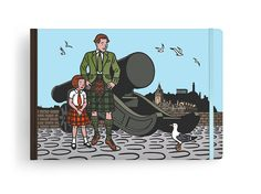 Louis Vuitton Travel Book goes to Edinburg, as illustrated by Floch : Luxurylaunches Edinburgh Travel, Ligne Claire, Artist Biography, Ribbon Bookmarks, Casual Street Style, True Love, Louis Vuitton, Illustration, Travel Books