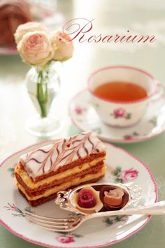 Napoleon Tea Time my all time favorite pastry that brings me so many memories of my Uncle George <3