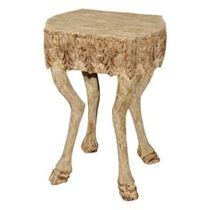 Check out the deal on A carved side table at Eco First Art