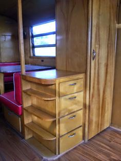 Original Cabinets Airstream Pinterest Yachts For Sale And