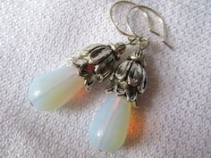 April Showers Beautiful Drop Earrings by nikkisuniques on Etsy