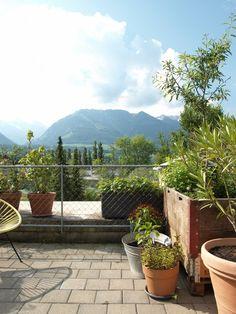 Unseren kleinen Terrassengarten
