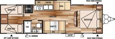 Wildwood X-Lite Northwest Travel Trailers by Forest River RV
