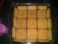 Marshmallow Fridge Tart · How To Make A Pudding · Cooking on Cut Out + Keep Butter Biscuits Recipe, Biscuit Recipe, African Dessert, Oatmeal Muffins, Tart Recipes, Food And Drink, Yummy Food, Baking, Tarts