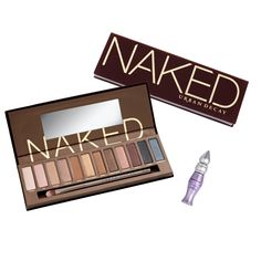 The original Naked Palette by Urban Decay.  I am all about wearing neutrals and with nearly 4000 reviews giving this palette a five star rating, it's sure to be my new favorite!