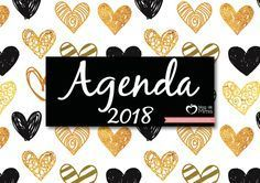 Agenda 2018: organizador mensal, semanal e diário para imprimir - Blog da Mimis
