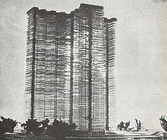 Le Corbusier's Cartesian skyscraper.
