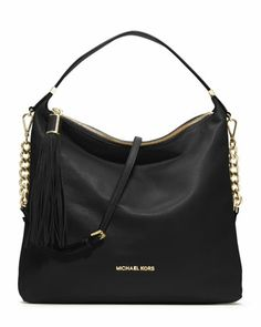 MICHAEL Michael Kors  Large Weston Pebbled Shoulder Bag.