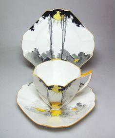 Early 20th Century British Deco Tea Set