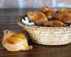 Touching delight for adults and kids these über cute bird shaped bread rolls are a perfect spring breakfast treat.