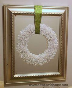 DIY Snowflake Wreath - Live #Dan330