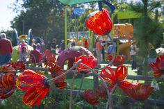 The Land of Oz Garden at the Epcot International Flower & Garden Festival...  @Amanda Sundberg's home!