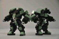 Two Lego robots