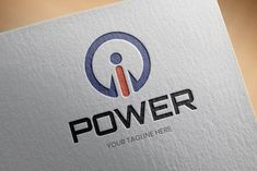 Power Logo Template by BdThemes on Corporate Branding, Personal Branding, Vector Logo Design, Graphic Design, Power Logo, Whatsapp Profile Picture, Craft Logo, Website Logo, Energy Technology