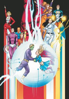 Amy Reeder Hadley - Supergirl and Legion of Super-Heroes