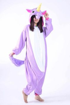Pijama De Unicornio Púrpura