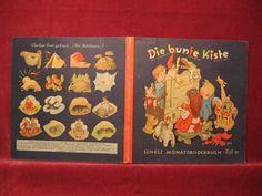 Die bunte Kiste. Scholz Monatsbilderbuch. 2. Jahrgang,: Börsch, Lili (Schriftleitung):