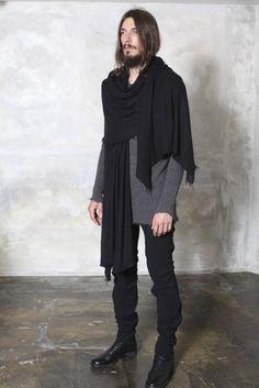 ZIGGY CHEN scarf black brand new 100% cashmere