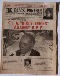 """""""C.I.A. 'Dirty Tricks' Against B.P.P.,"""" The Black Panther, January 15, 1975."""