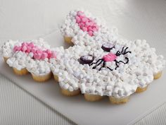 Gather the kids and create the sweetest and easiest bunny cake. It's as easy as making cupcakes!