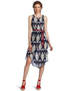 Amazon.com: Patterson J. Kincaid Women's Oracle Midi Dress: Clothing
