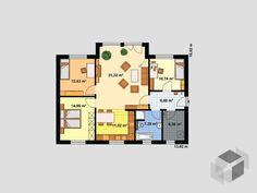 Haus für Drei von EBH Haus   Bungalow   Walmdach
