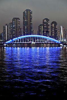 Blue Arch Tokyo @ Night