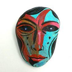 #pebbles #stoneart #illustration #handmade #design #instaart #instatalent #mik #paint #kavicsfestés