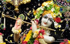 To view Gopinath Close Up Wallpaper of ISKCON Chowpatty in difference sizes visit - http://harekrishnawallpapers.com/sri-gopinath-close-up-wallpaper-149/