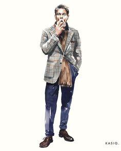 "Reposting the amazing artwork by @kasiqjungwoo: ... ""watercolor on paper kasiq . . Simone Righi . . . . . . #kasiq #fashion #sketch #style #sight #instaart #watercolor #watercolors #drawing #artwork #milan #seoul #art #painter #painting #color #designer #mensfashion #magazine #fashionillustration #illustrations #chic #italy #streetfashion #streetstyle #menswear #illustration #fashiondrawing #paris #london #milan @frasidisimonerighi"""