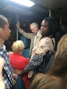 JEREMY CORBYN ON HIS WAY HOME LAST NIGHT. Think about that, Bercow, and the rest of you